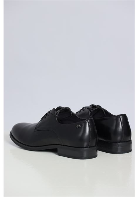 Black men's shoes by gian marco venturi with string GIAN MARCO VENTURI | Party Shoes | AL0032NERO
