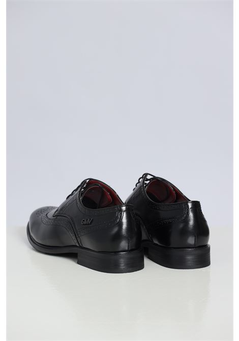 Black men's shoes by gian marco venturi with string GIAN MARCO VENTURI | Party Shoes | AL0038NERO