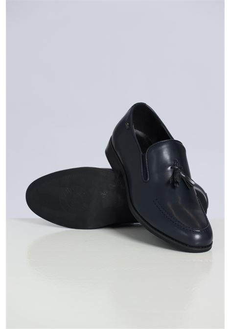 Blue men's mocassins by gian marco venturi GIAN MARCO VENTURI | Party Shoes | MO0042NAVY