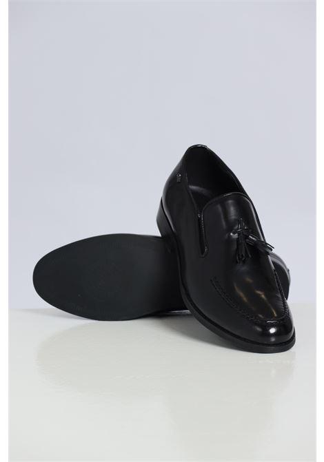 Black men's mocassins by gian marco venturi GIAN MARCO VENTURI | Party Shoes | MO0042NERO