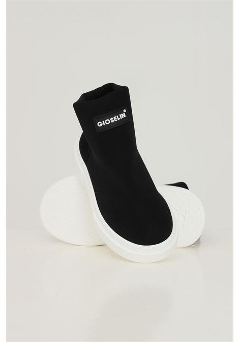 Sneakers bambino unisex nero gioselin modello calzino GIOSELIN | Sneakers | LIGHT-230KNERO