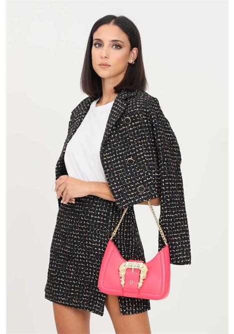 Fantasy women's jacket by glamorous short cut GLAMOROUS | Blazer | CK6286BLACK MULTI TWEED