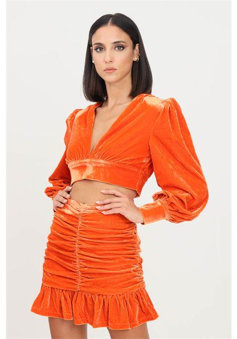 Orange top by glamorous causal model GLAMOROUS | Top | GC0434ORANGE