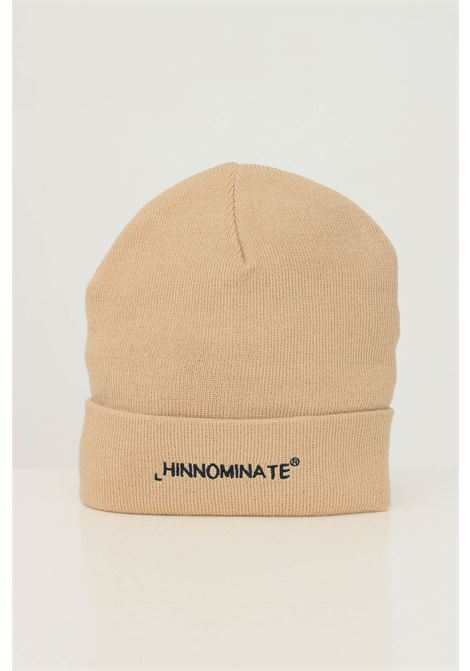 Biscuit unisex hat by hinnominate with front logo embroidery HINNOMINATE | Hat | HNACA01BISCOTTO