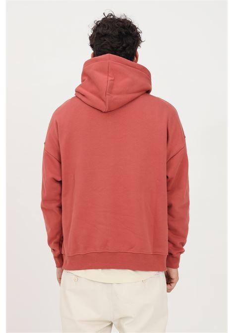 Red men's hoodie by hinnominate HINNOMINATE | Sweatshirt | HNMSFC01MATTONE