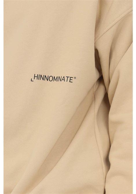 Biscuit men's sweatshirt by hinnominate crew neck model HINNOMINATE | Sweatshirt | HNMSFML03BISCOTTO