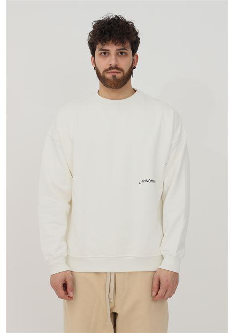 White men's sweatshirt by hinnominate crew neck model HINNOMINATE | Sweatshirt | HNMSFML03OFFWHITE