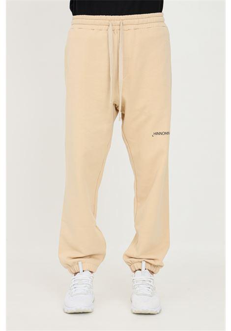 Pantaloni unisex biscotto hinnominate casual con elastico in vita HINNOMINATE | Pantaloni | HNMSP06BISCOTTO