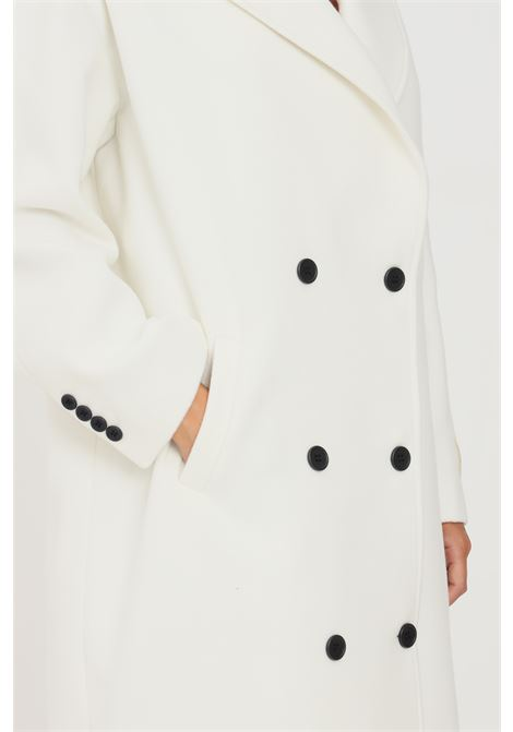 Cappotto donna panna hinnominate taglio lungo HINNOMINATE | Cappotti | HNWFC75PANNA