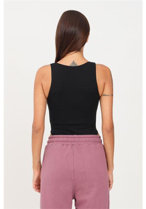 Body nero hinnominate casual con logo frontale HINNOMINATE | Body | HNWSBD43NERO