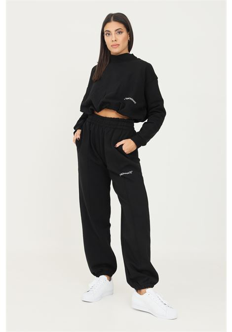 Pantaloni unisex nero hinnominate modello casual con elastico in vita HINNOMINATE | Pantaloni | HNWSP38NERO