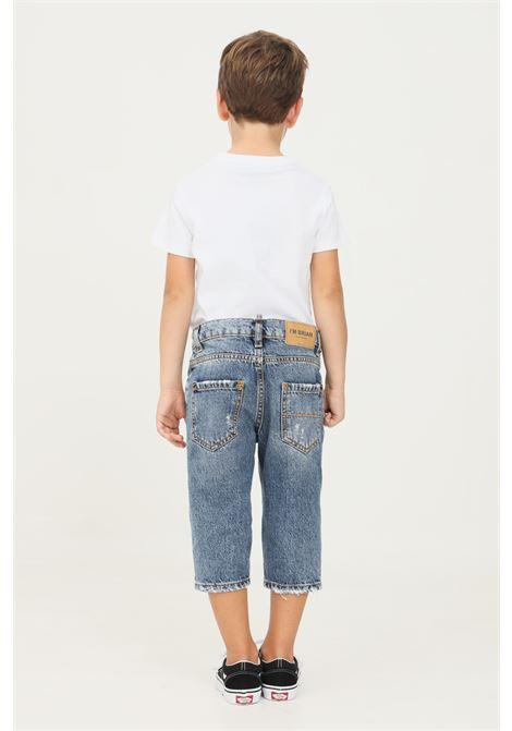 Jeans alex crop fit bambino blu i'm brian I'M BRIAN | Jeans | ALEX J L1706LAV 1706