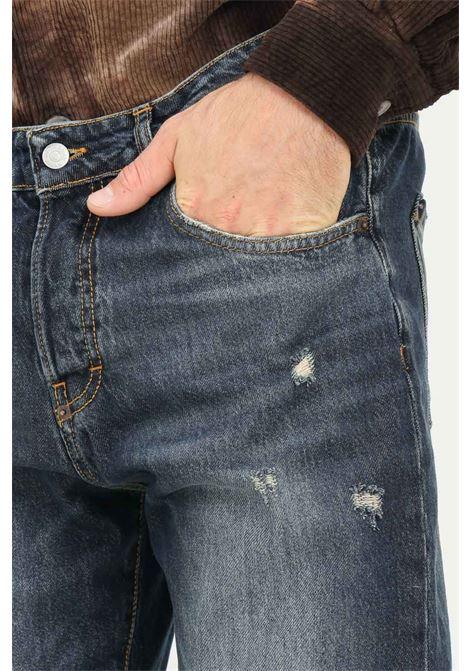 Jeans alex crop fit uomo blu i'm brian I'M BRIAN | Jeans | ALEX L1708LAV1708