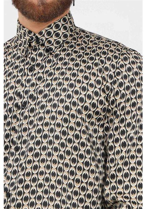 Camicia uomo fantasia i'm brian modello elegante con stampa pattern I'M BRIAN | Camicie | CA19410028