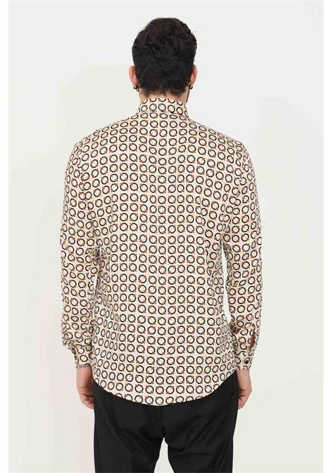 Camicia uomo fantasia i'm brian modello elegante con stampa pattern I'M BRIAN | Camicie | CA19420028