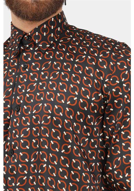 Camicia uomo fantasia i'm brian modello elegante con stampa pattern I'M BRIAN | Camicie | CA19430028