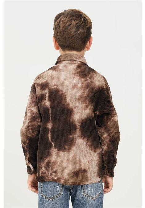 Camicia marrone bambino i'm brain a costine I'M BRIAN | Camicie | CA1946J0028