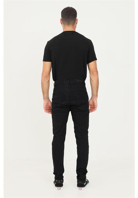 Jeans uomo nero i'm brian modello basic chiusura con bottoni I'M BRIAN | Jeans | GREG L1701LAV 1701