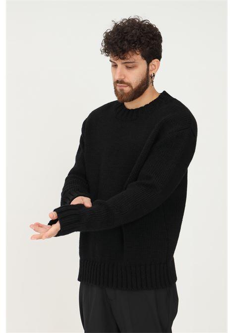Maglione uomo nero i'm brian modello girocollo over I'M BRIAN | Maglieria | MA1880009