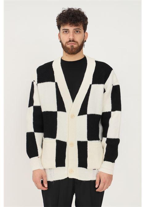 White black men's cardigan by i'm brian I'M BRIAN | Cardigan | MA18830028