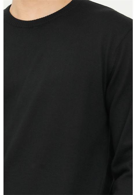 Maglioncino uomo nero i'm brian girocollo I'M BRIAN | Maglieria | MA1895009