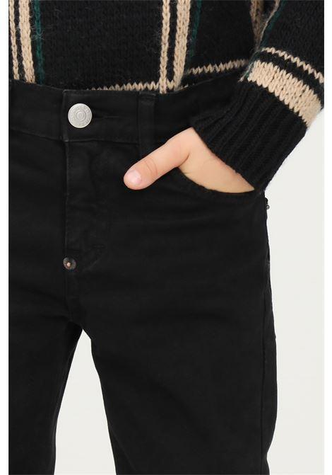 Jeans bambino nero i'm brian chiusura con zip e bottone I'M BRIAN | Jeans | MIRKO J C L1712009