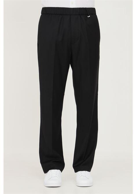 Pantaloni uomo nero i'm brian taglio elegante con elastico in vita I'M BRIAN | Pantaloni | PA1832.009