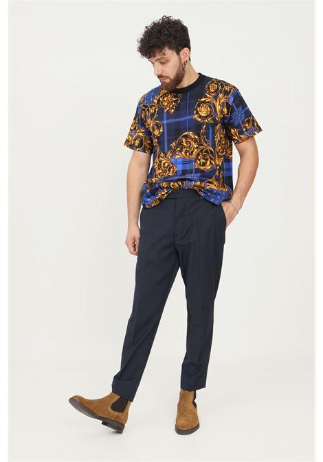 Pantaloni uomo blu i'm brian elegante classico I'M BRIAN | Pantaloni | PA1836005