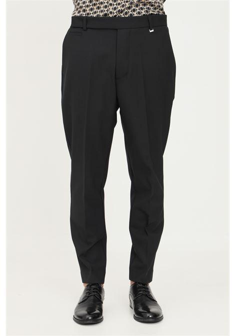 Pantaloni uomo nero i'm brian elegante classico I'M BRIAN | Pantaloni | PA1836009