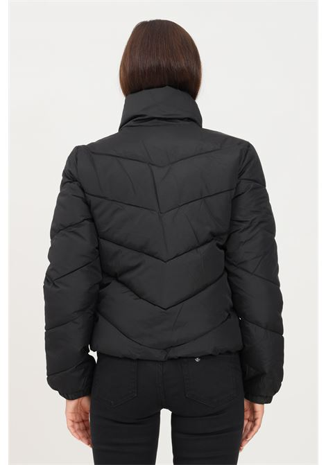 Giubbotto donna nero jaquelin de young con zip integrale jaqueline de young | Giubbotti | 15221646BLACK