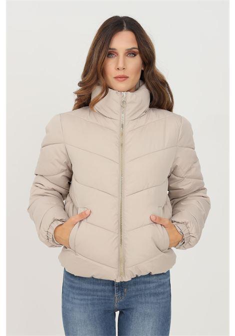 Giubbotto donna beige jaquelin de young con zip integrale jaqueline de young | Giubbotti | 15221646SIMPLY TAUPE