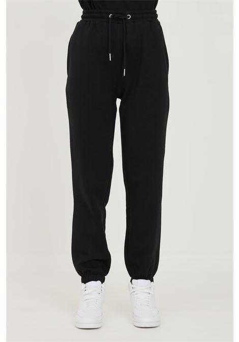 Pantaloni donna nero jaquelin de young con elastico in vita jaqueline de young | Pantaloni | 15233941BLACK