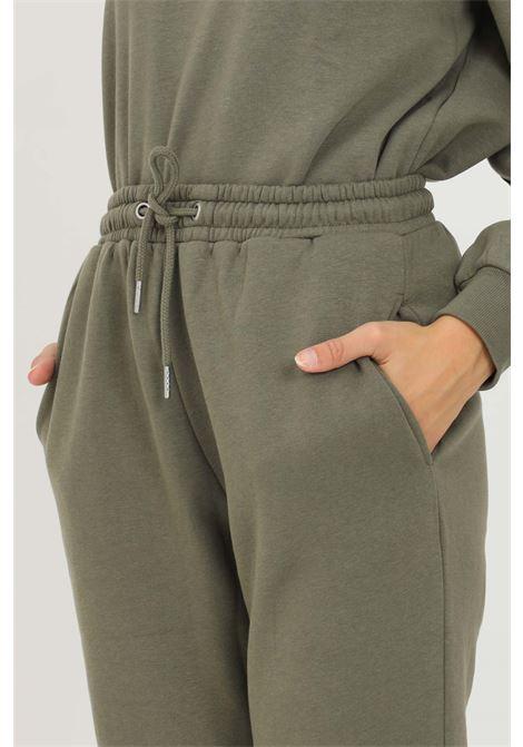 Pantaloni donna verde jaquelin de young con elastico in vita jaqueline de young | Pantaloni | 15233941KALAMATA