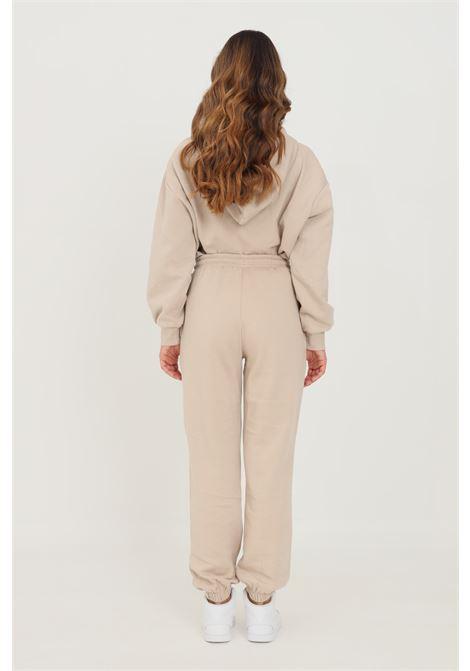 Pantaloni donna beige jaquelin de young con elastico in vita jaqueline de young | Pantaloni | 15233941SIMPLY TAUPE