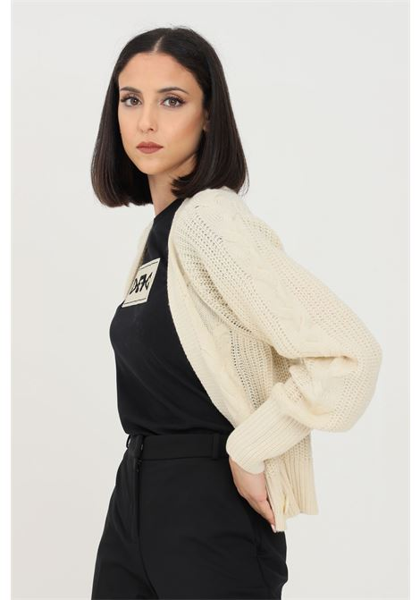 Cream women's cardigan by JDY in knit without closures jaqueline de young | Cardigan | 15234037BIRCH
