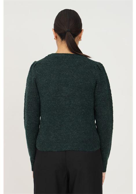 Cardigan donna verde jaqueline de young chiusura con bottoni jaqueline de young | Cardigan | 15234109PONDEROSA PINE