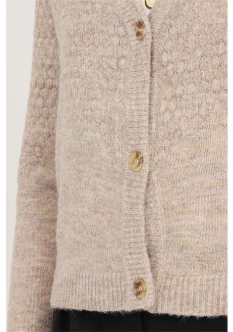 Cardigan donna beige jaqueline de young chiusura con bottoni jaqueline de young | Cardigan | 15234109SIMPLY TAUPE
