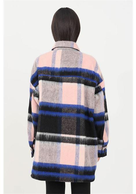 Cappotto donna multicolor jdy modello camicia jaqueline de young | Cappotti | 15234148BLACK