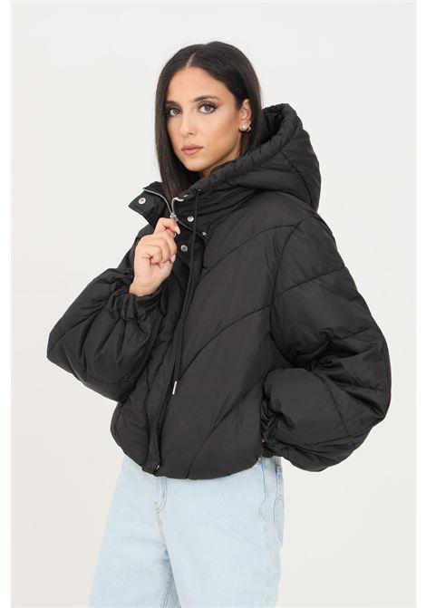 Black women's jacket by jaqueline de young with hood jaqueline de young | Jacket | 15234199BLACK
