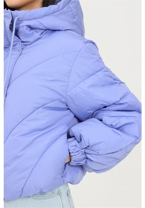 Piumino donna lavanda jaqueline de young con cappuccio jaqueline de young | Giubbotti | 15234199JACARANDA