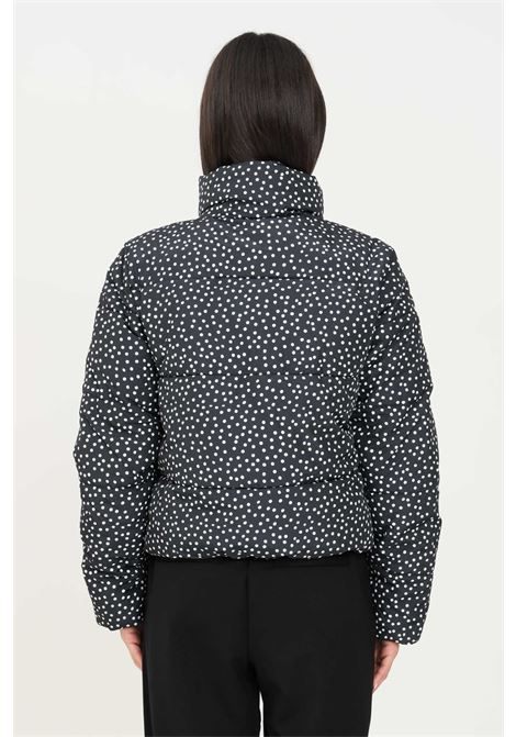 Printed jacket by jdg with zip and polka dot theme jaqueline de young | Jacket | 15237754BLACK/DOT