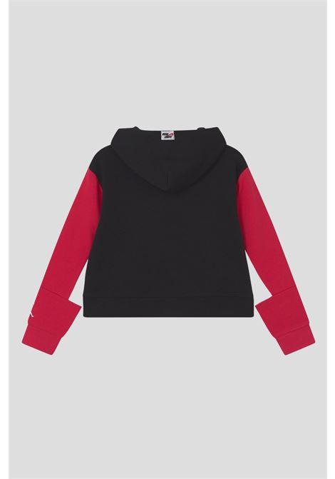 Black red baby jordan jumpman boxy hoodie JORDAN | Sweatshirt | 45A761023
