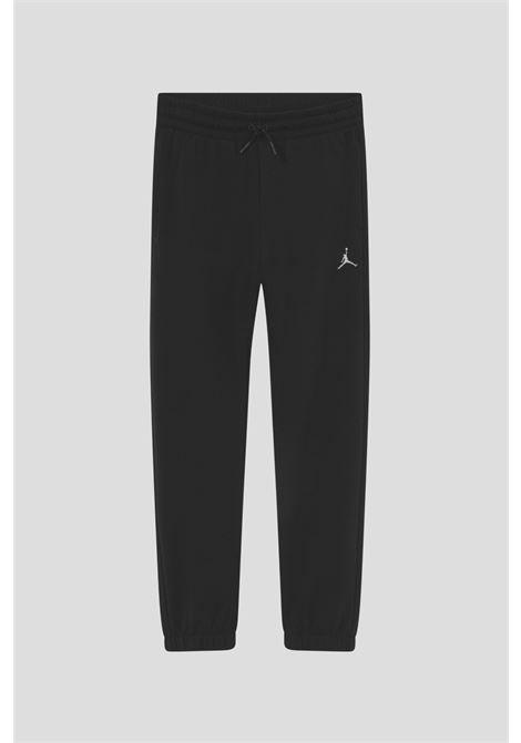 Pantaloni nero bambina sport jordan modello con vita elastica JORDAN | Pantaloni | 45A860023