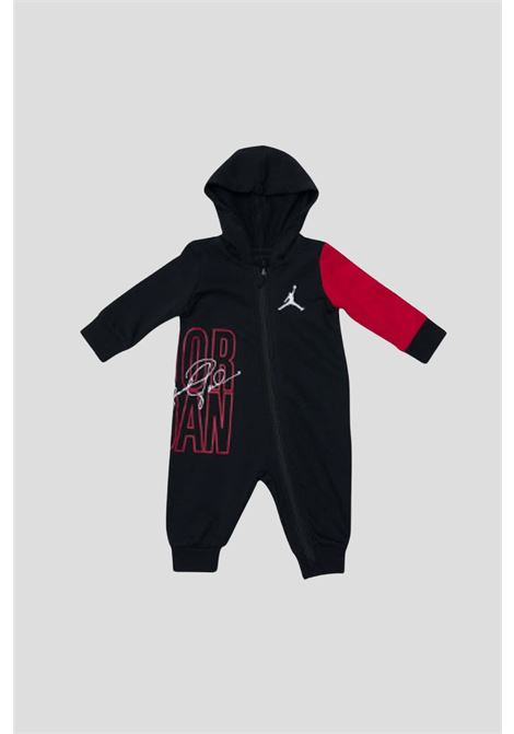 Body neonato nero jordan con cappuccio JORDAN | Body | 55A849023