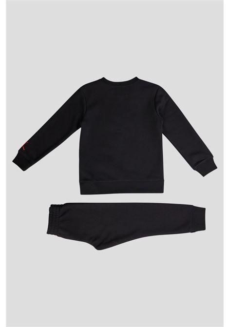 Black baby suit by jordan with maxi print JORDAN | Suit | 85A834023