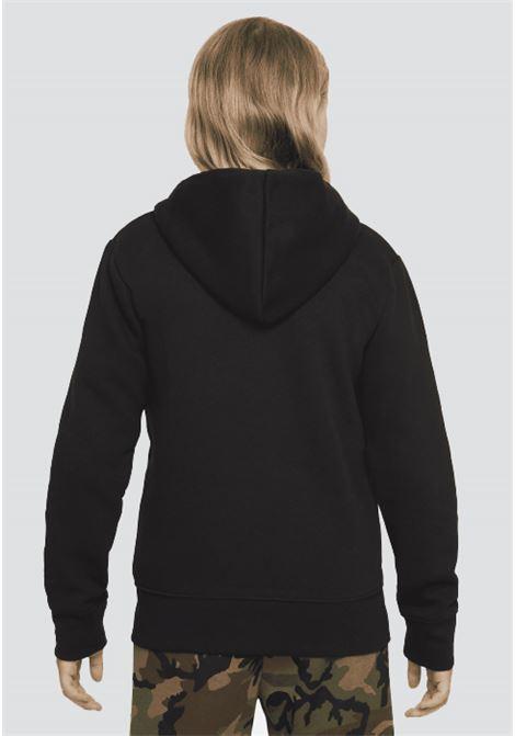 Black baby jordan kids essential fullzip hoodie with zip JORDAN | Sweatshirt | 95A714023
