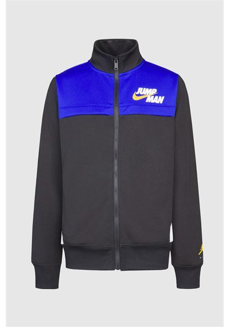 Black baby sweatshirt by jordan with jumpman logo on the front JORDAN | Sweatshirt | 95A719023