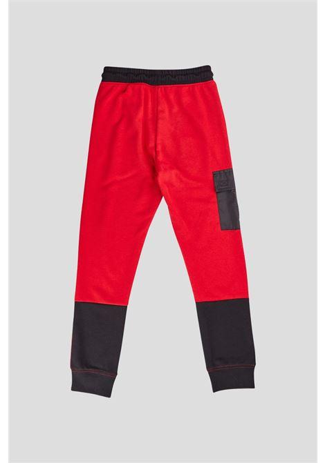 Red baby trousers by jordan, cargo model JORDAN | Pants | 95A747R78