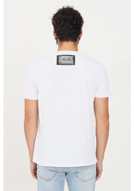 T-shirt uomo bianco just cavalli a manica corta JUST CAVALLI   T-shirt   S03GC0643100
