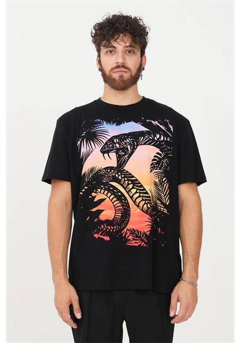 T-shirt uomo nero just cavalli a manica corta JUST CAVALLI   T-shirt   S03GC0645900